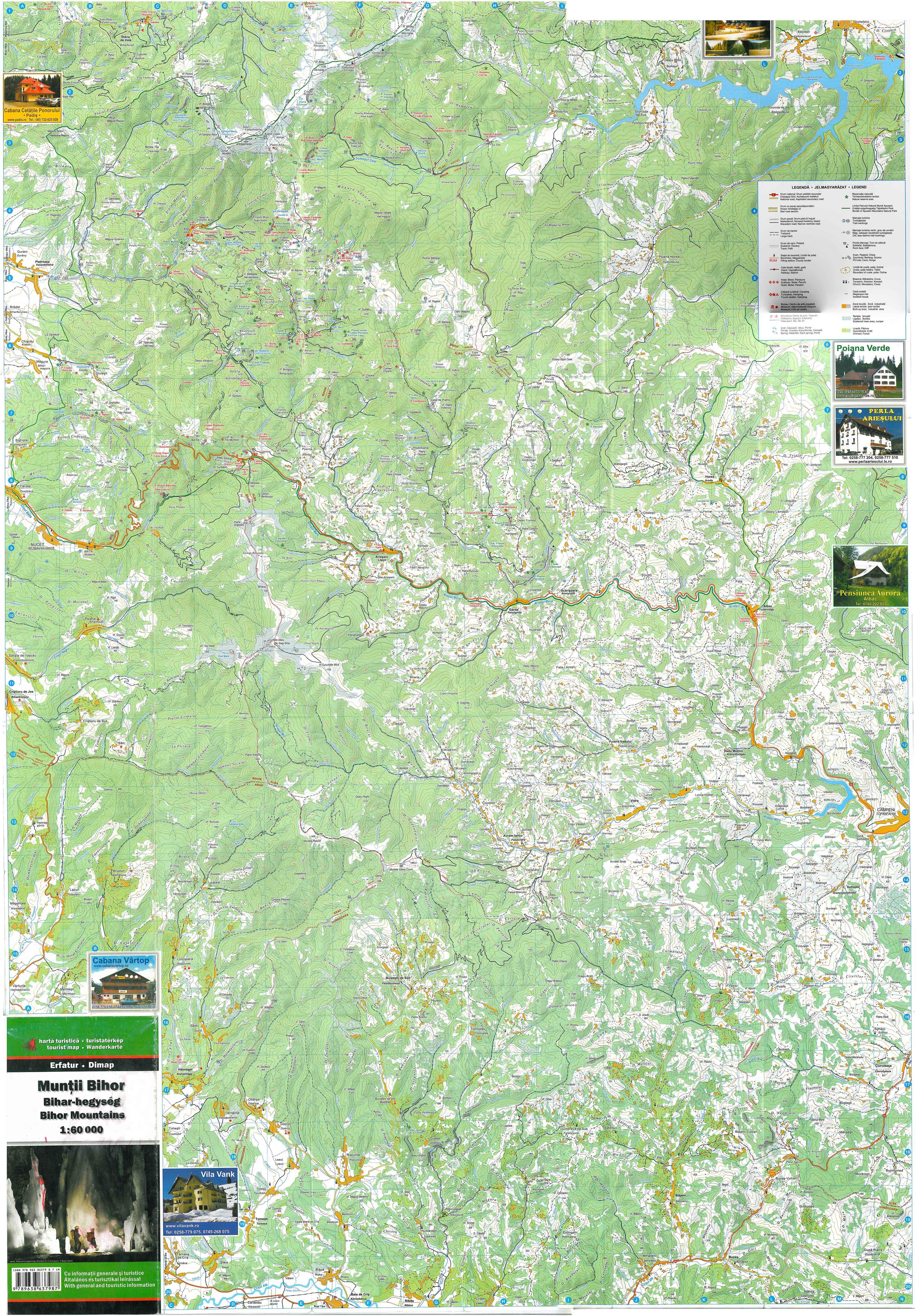 pádis térkép Térképtár | Bihari Túrák Közhasznú Egyesület pádis térkép