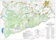 Csindrel-hegység térképe